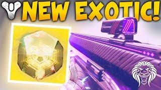 Destiny 2: NEW EXOTIC VOID BLASTER! Giant Vex Boss, Vault of Glass Door, Armor Shaders & Consul