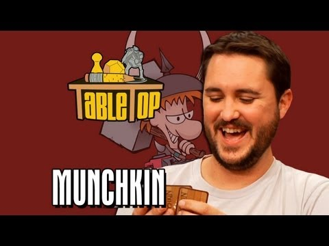Munchkin: Felicia Day. Steve Jackson and Sandeep Parikh join Wil Wheaton on TableTop. Episode 5