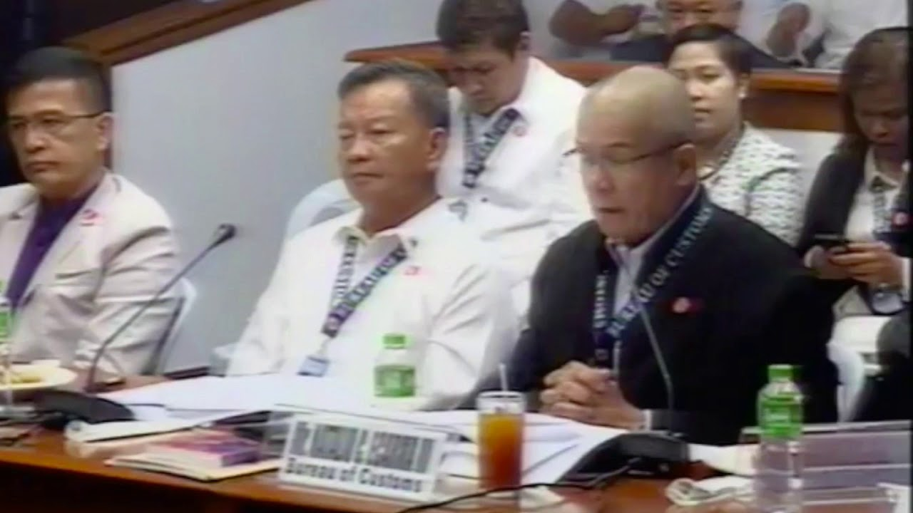 BOC execs tagged by Lacson deny getting bribes from smugglers