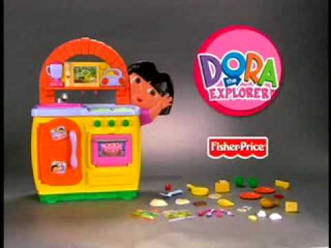 Dora The Explorer Talking Kitchen Set