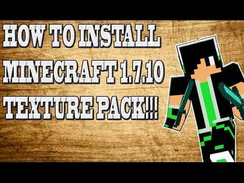 How To Install Minecraft 1.7.10 Texture Pack on PC/Mac