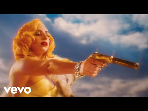 Lady Gaga - Machete Kills - Aura (lyric Video) video