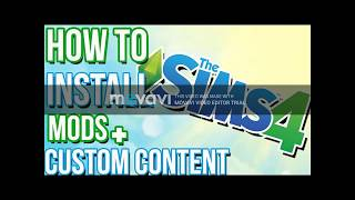 HOW TO DOWNLOAD SIMS 4 CC & MODS