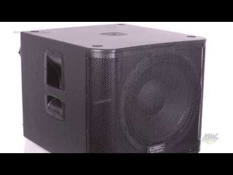 QSC KW181 Loudspeaker Powered PA Subwoofer - QSC KW181