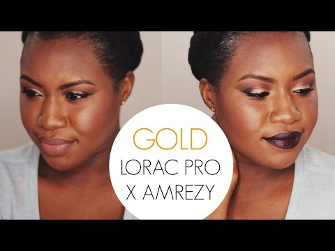 Gold Lorac Pro X Amrezy Palette Makeup Buzz Tag