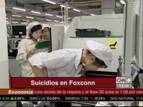 Suicidios en la fábrica del iPad