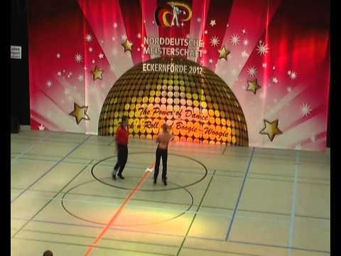 Stefanie Franzen & Thomas Fischer - Norddeutsche Meisterschaft 2012