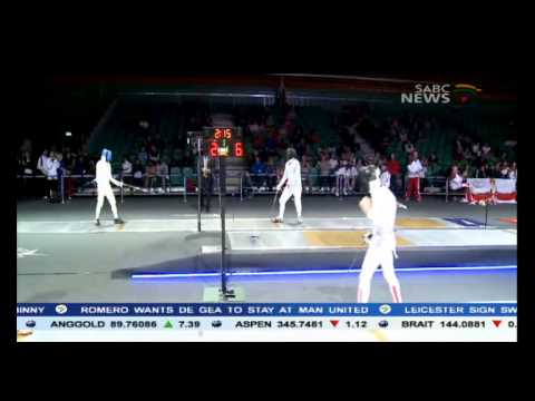 The Olympic Sport of Fencing: Sello Maduma