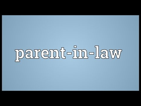 Header of parent-in-law