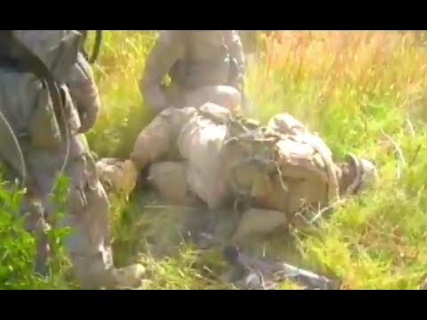 MARINE HIT BY SHRAPNEL IN AFGHANISTAN