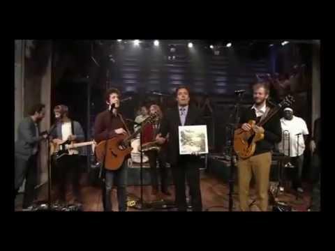 Bon Iver - Holocene performed on the Jimmy Fallon Show (full video)