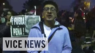 Raw Coverage: Protests in Mexico City