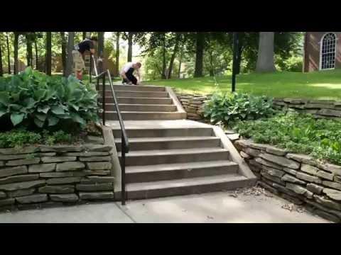 Woody Woelfel backside flip double set
