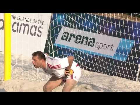 Пляжный футбол. 1/4 финала. Украина - Россия 2:3