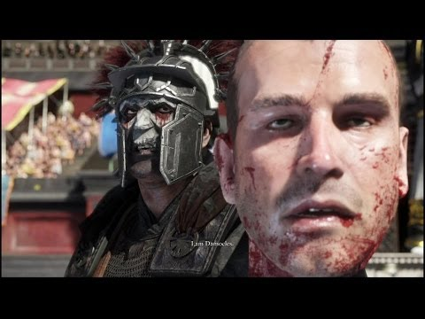 Ryse - Son of Rome: Damocles Kills The Emperors Son in the Colosseum
