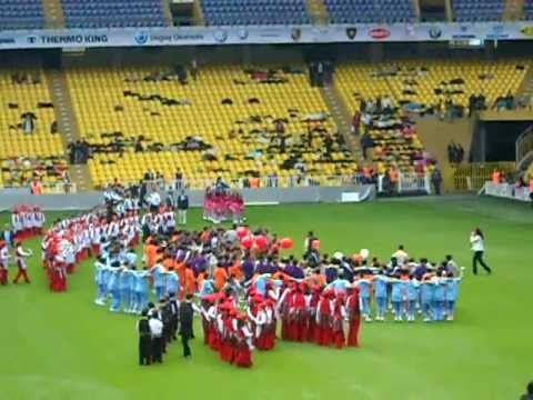 An american boys first view of turkish celebration at fenerbahce futbol stadium part 9 of 11
