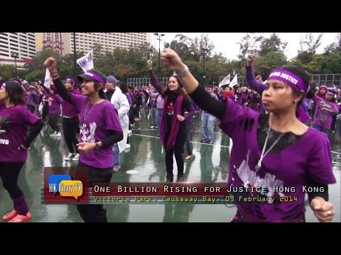 One Billion Rising for Justice in Hong Kong with Monique Wilson