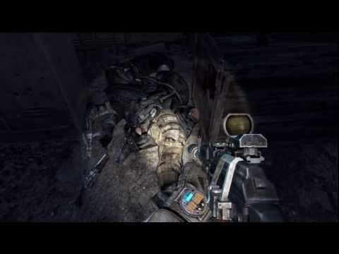 Metro: Last Light Ranger Mode - Separation: Reich Outpost Station Stealth Kill All Guards PS3
