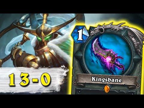 Hearthstone: 13-0 - Awesome Wild Deck (Kingsbane Rogue)