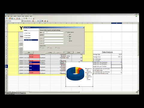 Creating a graph / chart in OpenOffice Calc