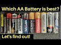 Which AA Battery is Best? Can Amazon Basics beat Energizer? Lets find out!