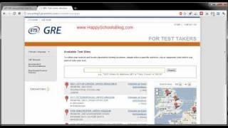 GRE Exam Test Dates 2011