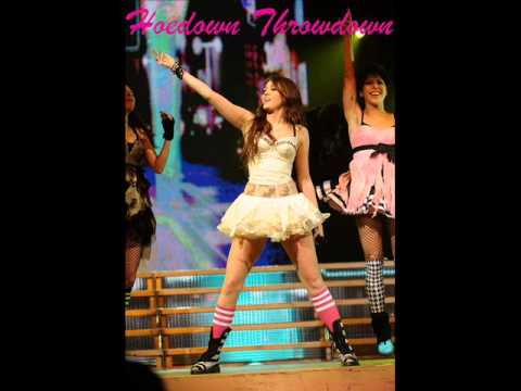 Miley Cyrus - Hoedown Throwdown (studio Acapella) video
