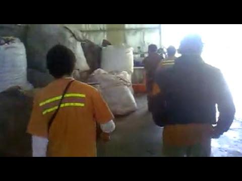 Comprometedor video de empleados de la Planta de Tratamientos de Residuos de Las Flores
