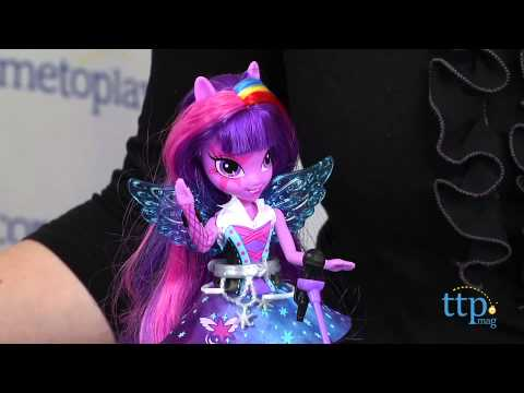 My Little Pony Equestria Girls Rainbow Rocks Singing Twilight Sparkle from Hasbro