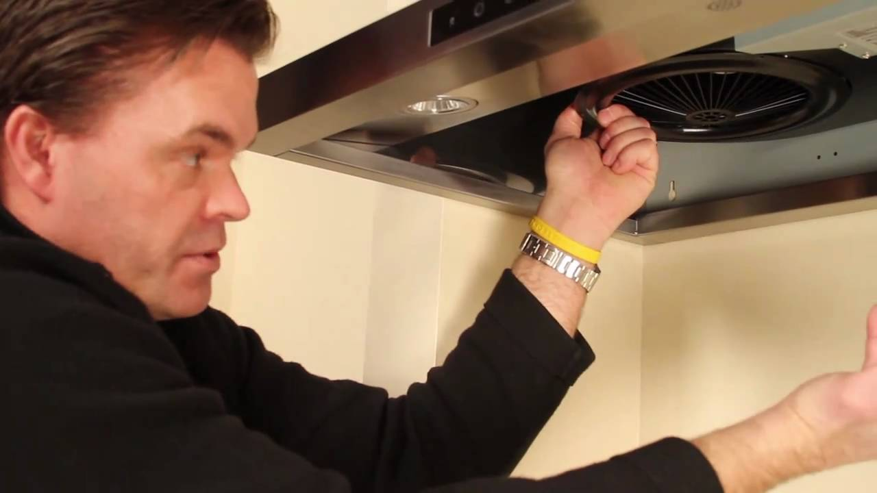 How To Clean Range Hood Baffle Filters And Fans Youtube