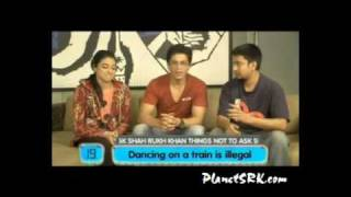 25 questions not to ask Shah Rukh Khan!  www.PlanetSRK.com