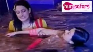 Humsafars 30th January 2015 FULL EPISODE   Aarzoo saves Zeenat from DROWNING
