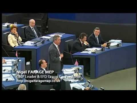 Support: http://www.ukip.org/donations | http://www.ukipmeps.org | http://twitter.com/Nigel_Farage � European Parliament, Strasbourg, 13 March 2013 � Speaker...