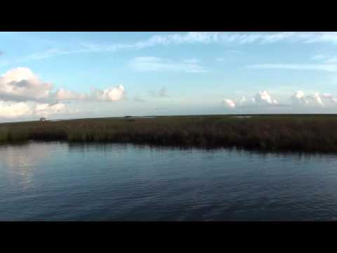 Redfishing in the Biloxi Marsh, Hopedale Louisiana 9 Sept 2010.wmv