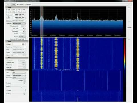 Testing RTL-SDR with SDR# (SDRSharp)