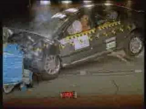 Crash Test of 2004 Peugeot 607 w/sab. Crash Test of 2004 Peugeot 607 w/sab