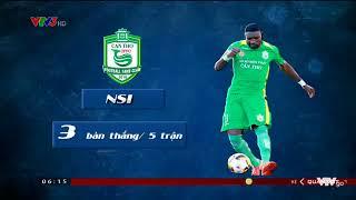 Kịch tính cuộc đua Danh hiệu Vua phá lưới giải VĐQG V League 2017