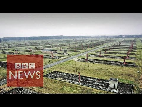 Auschwitz 70: Drone shows Nazi concentration camp