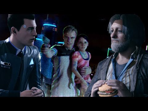 Connor Tells Hank About Emma's Incident -Every Single Choice- Detroit Become Human