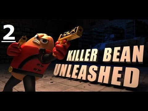 Killer Bean Unleashed Gameplay 2 All Weapons video