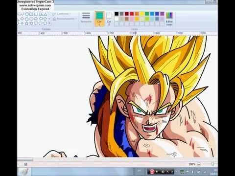 Goku Ssj 2 - Speed Painting