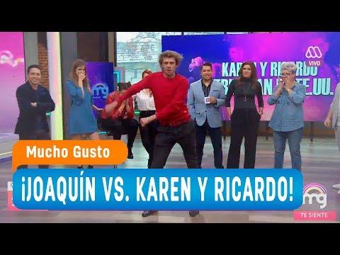 ¡Joaquín vs. Karen y Ricardo! - Mucho gusto 2018
