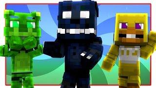 FNAF World - NIGHTMARE BONNIE! (Minecraft FNAF World Roleplay) Night 4