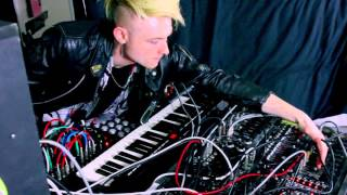 Modular synth Jam Wasted Days