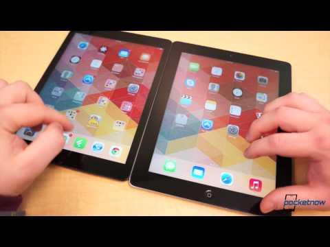 iPad Air vs Old iPad
