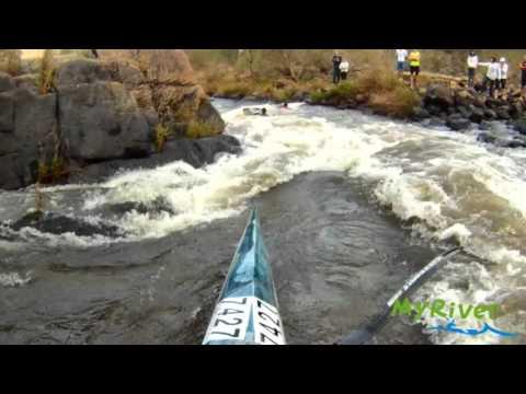 The Waterfall - Umgeni River, Table Mountain (9 cumecs)