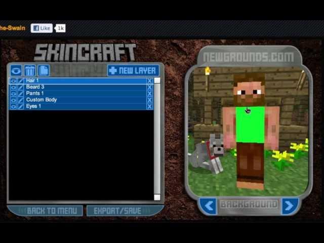 Minecraft Skin Creator!
