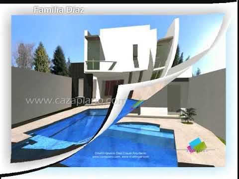 Planos de casas - fachadas modernas y diseños de viviendas