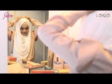 Simple Shabby Chic Hijab Tutorial by Ghaida Tsurayya #HijabStyleMolto - YouTube