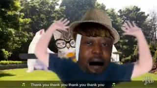 Crazy Thank You Song Funny eCard